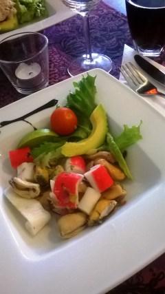 Cevichejä on monenlaisia. Tässä venezuelalainen versio.