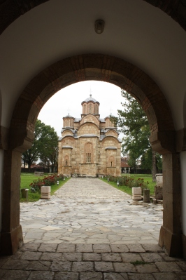 Gračanican luostarialuetta